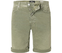 Jeansshorts, Tapered Fit, Baumwoll-Stretch 9,5oz