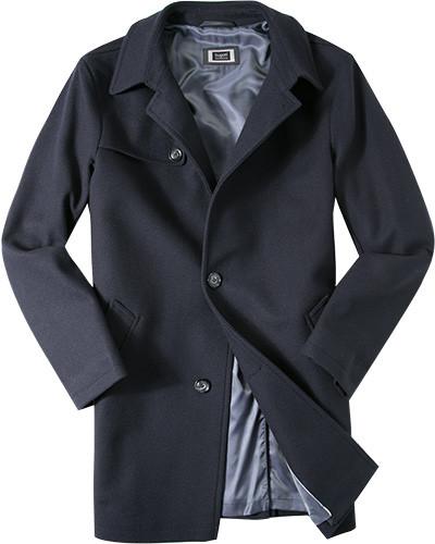 Mantel, Wolle, dunkel