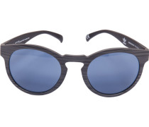 Herren Brillen adidas, Sonnenbrille, Kunststoff, grau-schwarz meliert