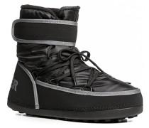Herren Schuhe Boots Nylon schwarz