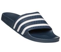 Herren Schuhe Pantolette, Gummi, dunkelblau