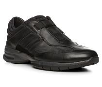 Herren Schuhe ASSUAN, Kalbleder/Neopren, schwarz