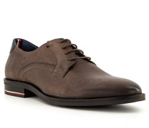 Schuhe Derby Leder kaffee