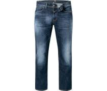 Jeans Baumwoll-Stretch dunkel