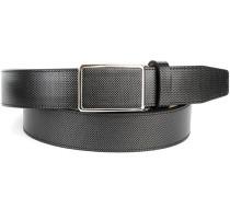 Herren Gürtel anthrazit Breite ca. 3,5 cm grau,schwarz