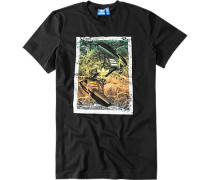 Herren T-Shirt Bio-Baumwolle schwarz