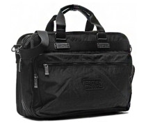 Herren Reisetasche, Nylon, schwarz