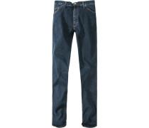 Herren Jeans Slim Fit Baumwoll-Mix-Stretch stone washed