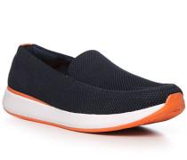 Schuhe Slipper Textil waschbar nacht