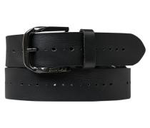 Herren Gürtel schwarz, Breite ca. 4,5 cm