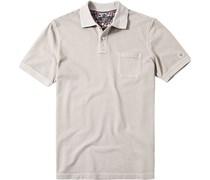 Herren Polo-Shirt Baumwoll-Piqué sand beige