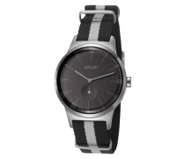 Herren Uhren Uhr Edelstahl -grau