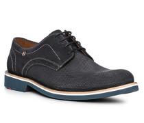 Schuhe Derby Veloursleder