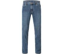 Jeans Seth Regular Fit Baumwoll-Stretch mittel