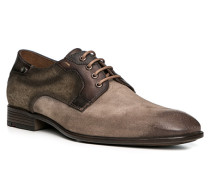 Herren Schuhe DAYAN Veloursleder-Textil braun