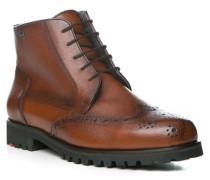 Herren Schuhe VIESTE Rindleder Lammfell gefüttert GORE-TEX® braun