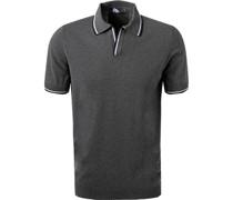Polo-Shirt Baumwoll-Strick mittel