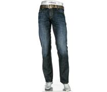 Jeans Pipe, Regular Slim Fit, Baumwoll-Stretch 11,5oz