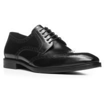 Herren Schuhe LUCIEN, Kalbleder, schwarz