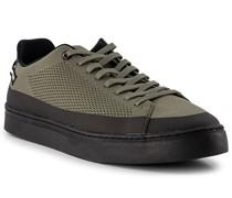 Schuhe Sneaker Textil oliv-schwarz