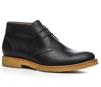 Herren Schuhe Desert Boot Leder nachtblau
