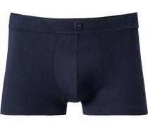 Herren Unterwäsche Trunk Baumwolle nachtblau