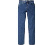 Herren Jeans Straight Fit Baumwolle denim