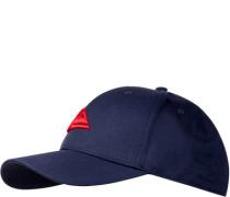 Herren QUIKSILVER Cap Baumwolle navy blau