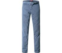 Herren Chino Extra Slim Fit Baumwolle jeans