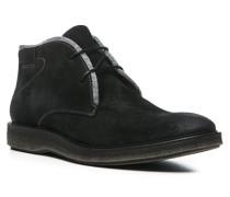 Herren Schuhe FARIN Kalbveloursleder schwarz