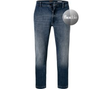 Jeans Tapered Fit Baumwoll-Stretch
