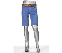 Herren Bermudas Pipe-K, Regular Slim Fit, Baumwolle, jeansblau