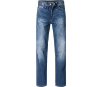 Herren Jeans Regular Straight Baumwoll-Mix jeans