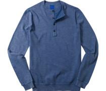 Herren Pullover Modern Fit Baumwolle jeans