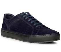 Herren Schuhe Sneaker Verloursleder navy blau