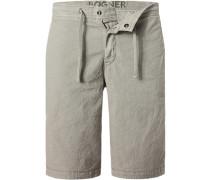 Hose Shorts Leinen-Baumwolle