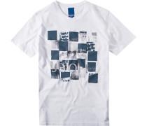 Herren T-Shirt Modern Fit Baumwolle