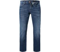 Jeans Delaware Slim Fit Baumwoll-Stretch marine