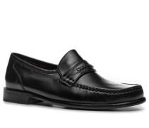 Herren Schuhe Loafer Lammnappa schwarz