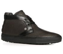 Herren Schuhe Desert Boots, Leder, dunkelbraun