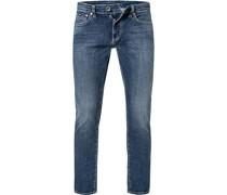 Jeans Skinny Fit Baumwoll-Stretch 10 5oz
