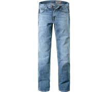 Jeans Greensboro, Regular Fit, Baumwoll-Stretch