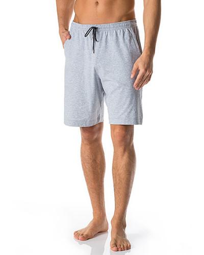 Schlafanzug Pyjamashorts, Baumwolle, hell meliert