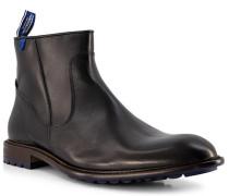 Schuhe Stiefeletten Kalbleder warmgefüttert