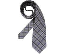 Herren Krawatte beige,blau,schwarz