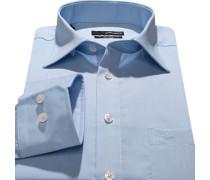 Herren Hemd Splendesto Baumwolle hellblau