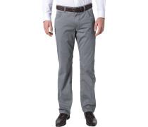 Herren Jeans Baumwoll-Stretch grau