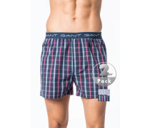 Herren Unterwäsche Boxershorts Baumwolle gemustert