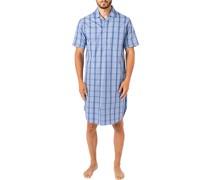 Nachthemd Popeline  kariert