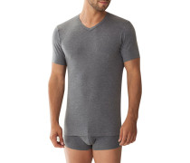T-Shirt Micromodal OEKO-TEX  meliert